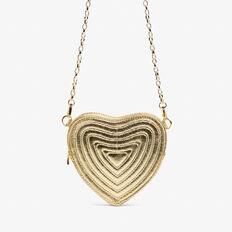 HEART BELT BAG  GOLD  hi-res