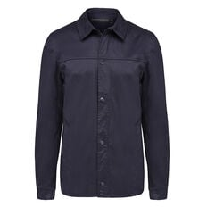 MARINE COATED JACKET  NAVY  hi-res