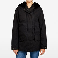 2 IN 1 BOMBER ANORAK  BLACK  hi-res
