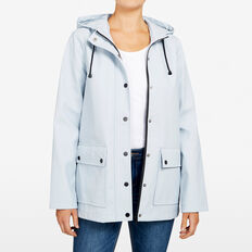 THE ESSENTIAL RAIN COAT  PALE BLUE  hi-res