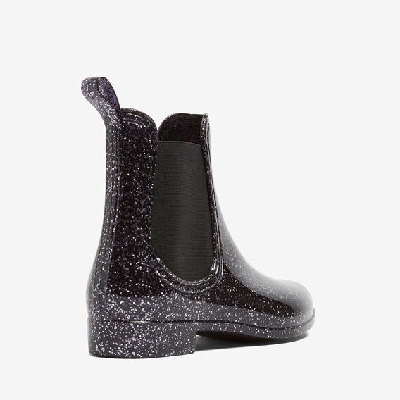 WINTER GUMBOOT  BLACK/SILVER  hi-res