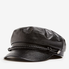 PAPERBOY HAT  BLACK  hi-res