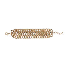 MULTI CHAIN BRACELET  GOLD  hi-res