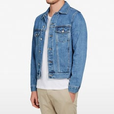 WASHED DENIM JACKET  LIGHT VINTAGE  hi-res