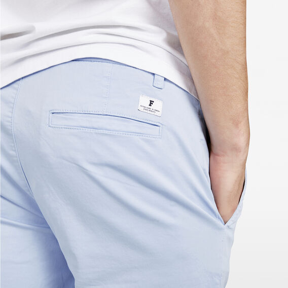 SLIM FIT STRETCH CHINO PANT  SKY BLUE  hi-res