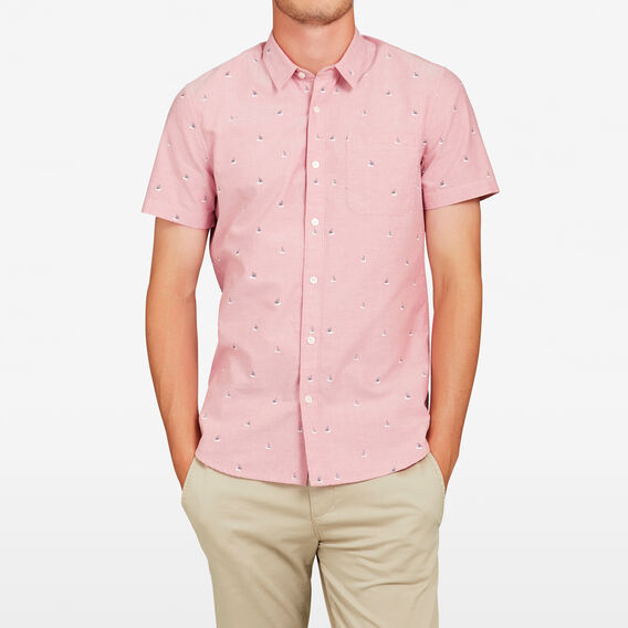 BOATS SLIM FIT SHIRT  SOFT RED  hi-res