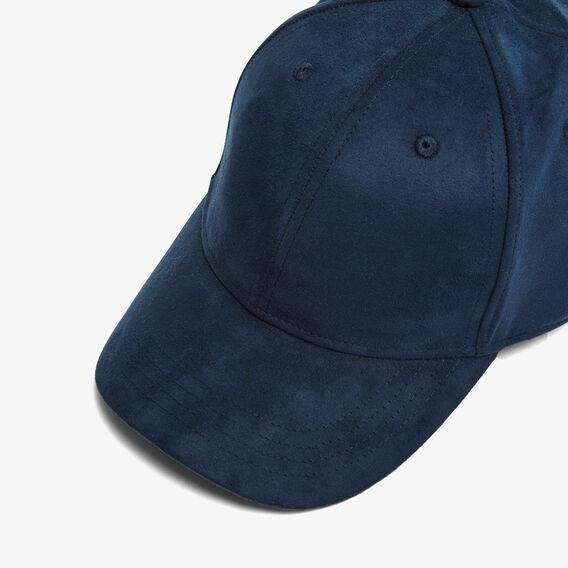 FAUX SUEDE CAP  OXFORD BLUE  hi-res