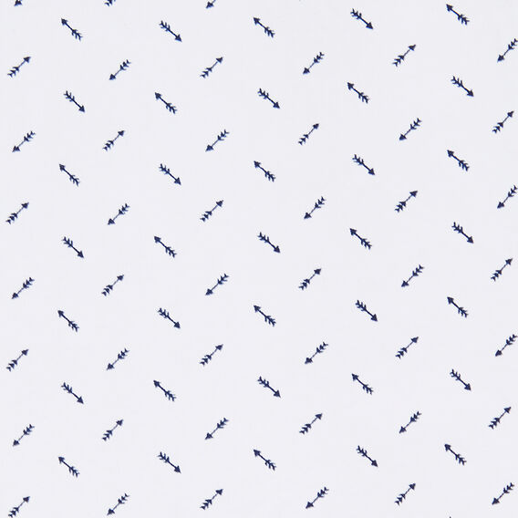 ARROW PRINT SLIM FIT SHIRT  MARINE BLUE/WHITE  hi-res