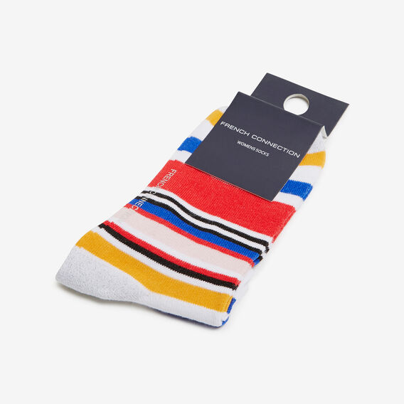 MARRAKESH STRIPE ANKLE SOCK  MULTI  hi-res