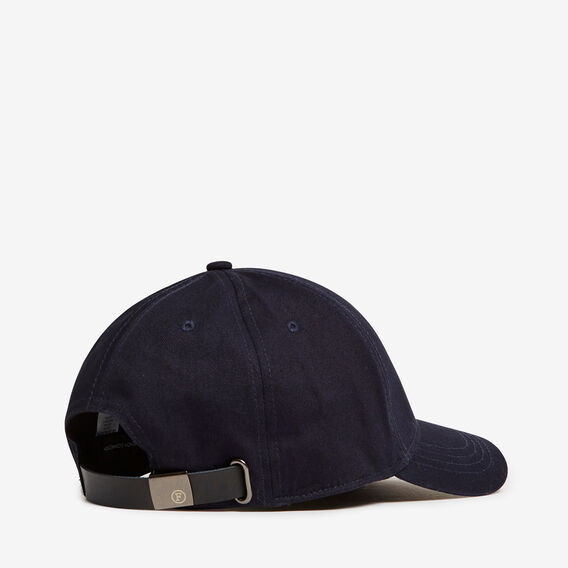 GIRAFFE EMBROIDERED CAP  MARINE BLUE  hi-res