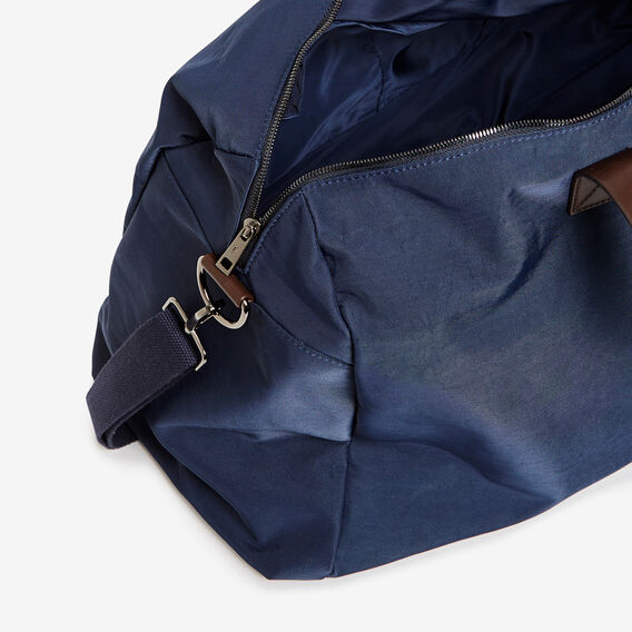 NYLON DUFFLE BAG  MARINE BLUE  hi-res