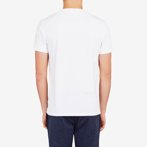 CLASSIC CREW NECK T-SHIRT  WHITE  hi-res