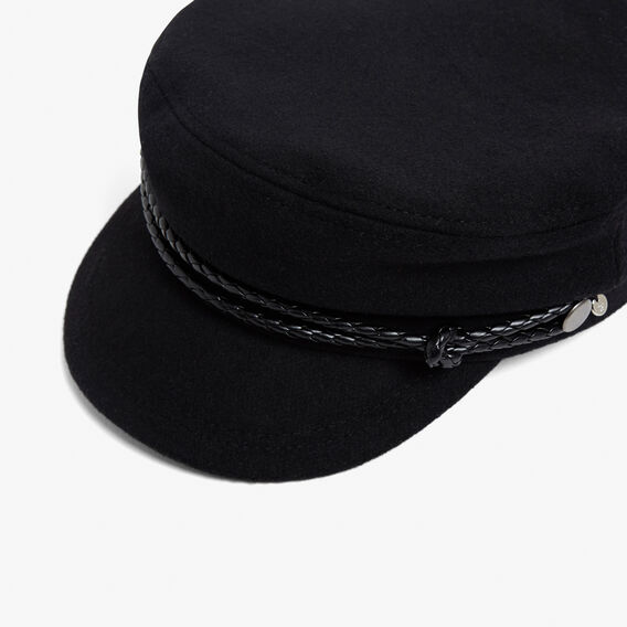 PAPER BOY CAP  BLACK  hi-res