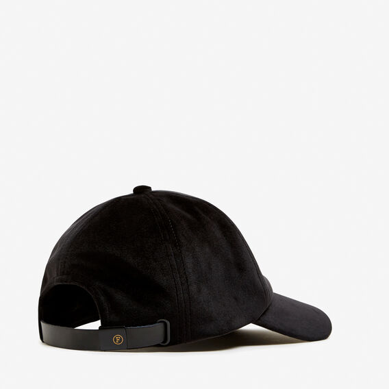 VELVET CAP  BLACK  hi-res
