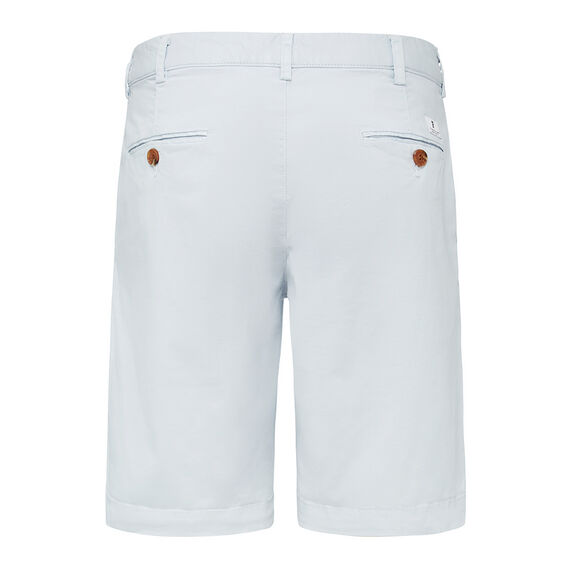 ESSENTIAL TWILL CHINO SHORT  CHALK BLUE  hi-res