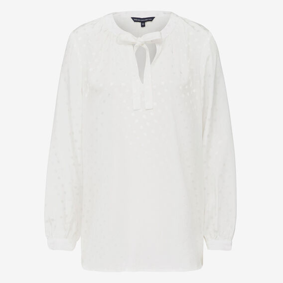 SUMMER SPOT POPOVER SHIRT  SUMMER WHITE  hi-res