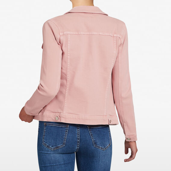 PASTEL WASH DENIM JACKET  PASTEL PINK  hi-res