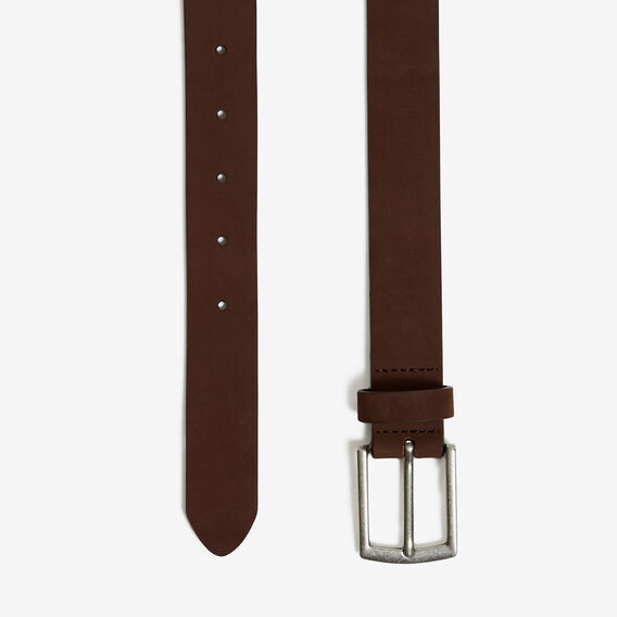 SUEDE BELT  CHOCOLATE  hi-res