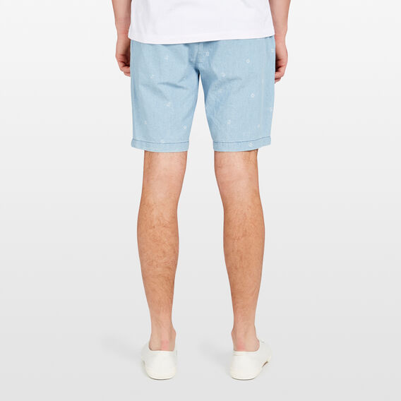 MARINA OXFORD SHORT  SKY BLUE  hi-res