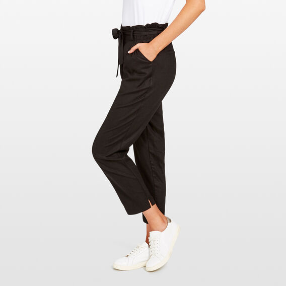 SOFT CARGO PANT  BLACK  hi-res