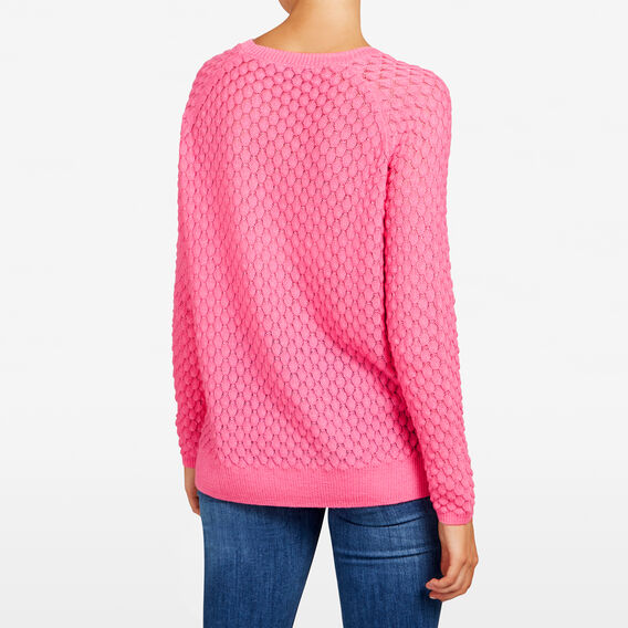 POPCORN TEXTURED KNIT  ORCHID PINK  hi-res