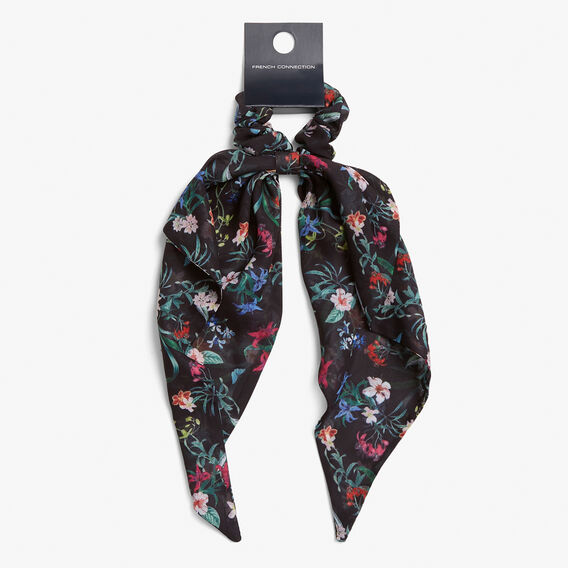 HAIR SCRUNCHIE SCARF  MULTI  hi-res