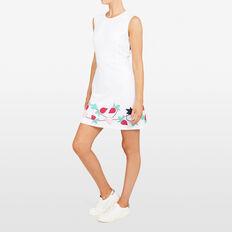 LACE BERRY APPLIQUE DRESS  SUMMER WHITE MULTI  hi-res