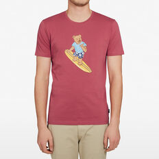 SURFER BEAR T-SHIRT  MELON  hi-res