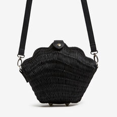 SHELL BAG  BLACK/BLACK  hi-res
