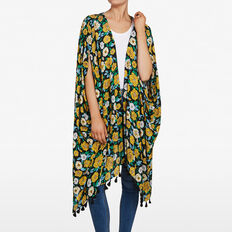 WILD FLOWER KAFTAN  MULTI  hi-res