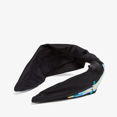 PARROT EMBROIDERED HEADBAND  BLACK/MULTI  hi-res