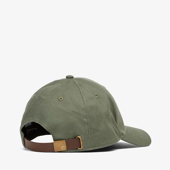 CAMEL EMBROIDERED CAP  OLIVE  hi-res