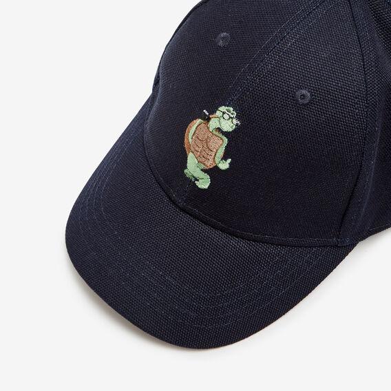 CHEEKY TURTLE CAP  NAVY  hi-res