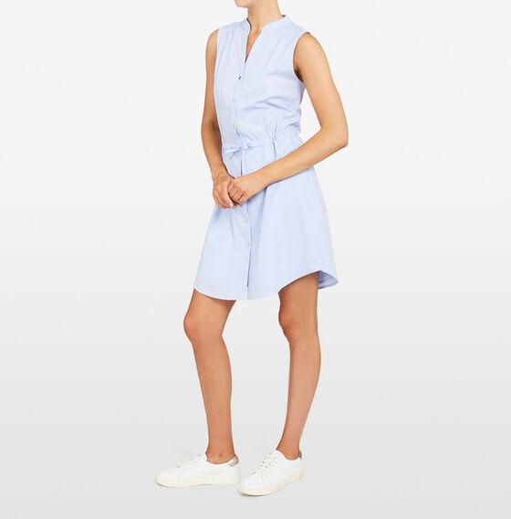CASUAL SHIRT DRESS  LIGHT BLUE  hi-res