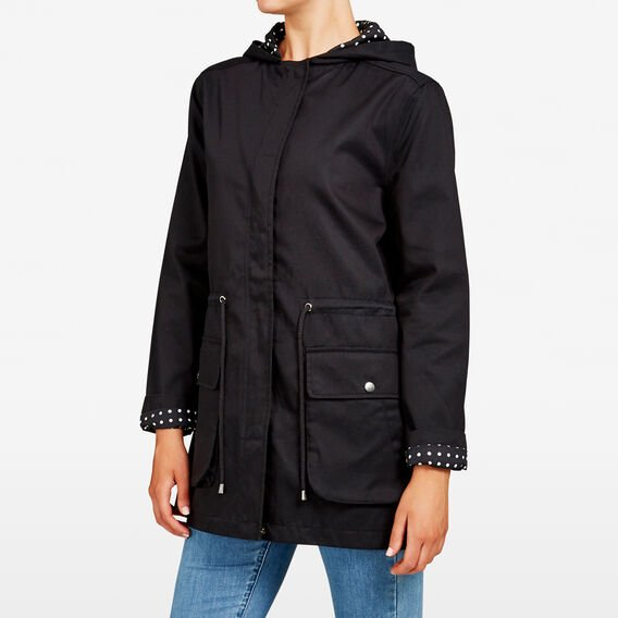 ALL DAY ANORAK  BLACK  hi-res