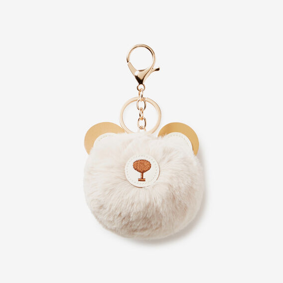 GRIZZLY BEAR KEYRING  TAN  hi-res