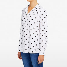 SPOT CORE SHIRT  SUMMER WHITE/BLACK  hi-res
