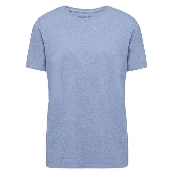 CLASSIC CREW NECK T-SHIRT  SKY BLUE MARL  hi-res