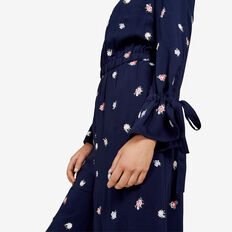 DITSY FLORAL EMBROIDERED JUMPSUIT  NOCTURNAL/MULTI  hi-res