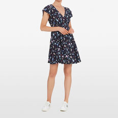 DITSY BLOOM WRAP DRESS  NOCTURNAL/MULTI  hi-res