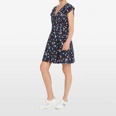 DITSY BLOOM WRAP DRESS  NOCTURNAL/MULTI  hi-res