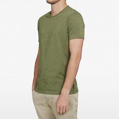 CLASSIC CREW NECK T-SHIRT  PINE GREEN MARLE  hi-res
