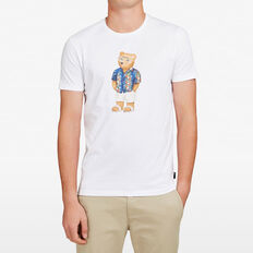 VACATION BEAR T-SHIRT  WHITE  hi-res