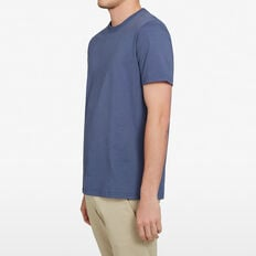 RELAXED FIT T-SHIRT  INDIGO  hi-res