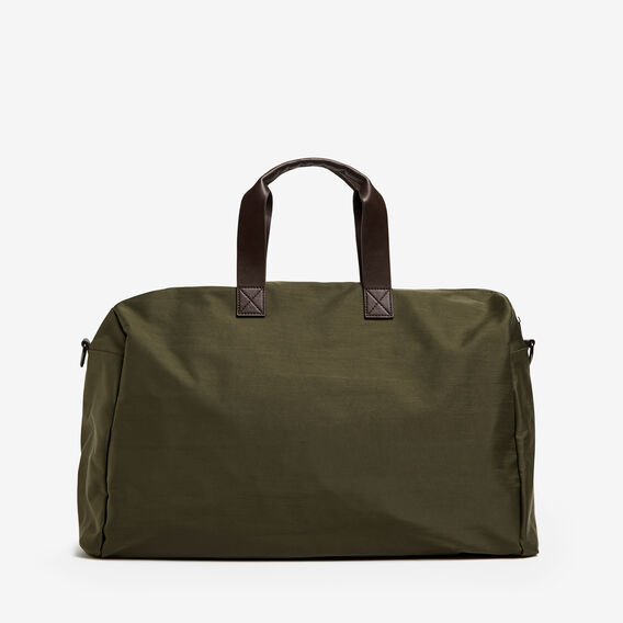 NYLON DUFFLE BAG  PINE GREEN  hi-res