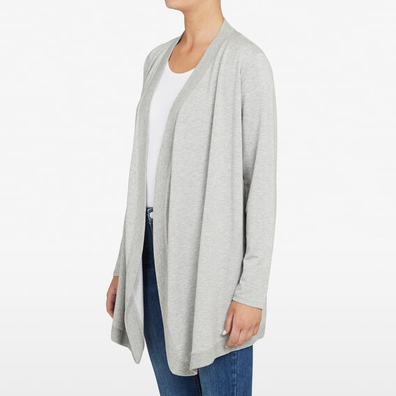 SUMMER CARDIGAN  GREY MARLE  hi-res