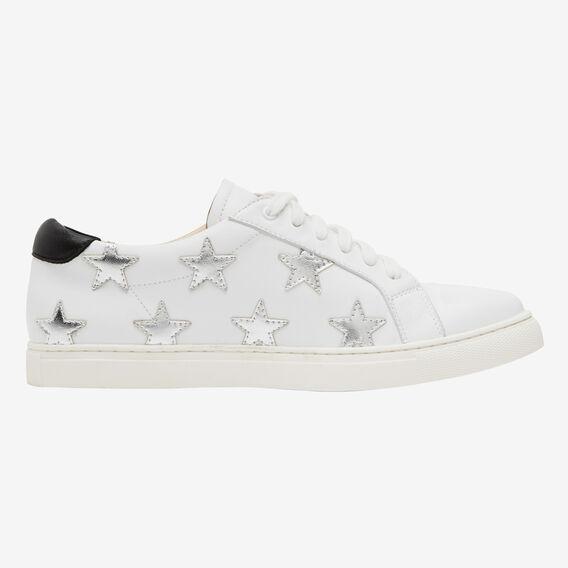 STAR SNEAKER  WHITE/SILVER  hi-res