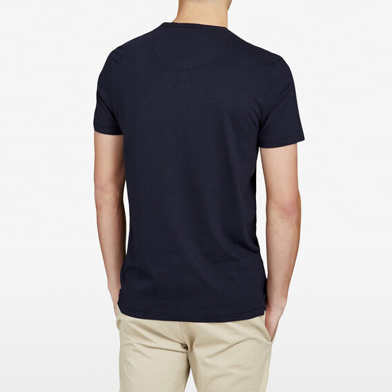 FCUKING HELL CREW NECK T-SHIRT  MARINE BLUE  hi-res