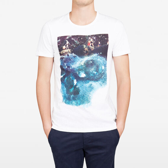 DEAD CALM CREW NECK T-SHIRT  WHITE  hi-res