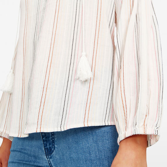 MULTI STRIPE BLOUSE  MULTI  hi-res